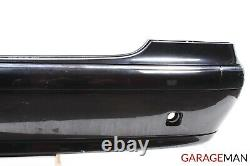 00-06 Mercedes W220 S430 S500 Base Rear Bumper Cover Panel Assembly Black OEM