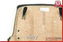 03-06 Mercedes W211 E500 Front Right Side Seat Back Plate Cover Panel Black OEM