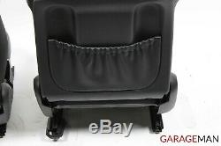 05-07 Mercedes W203 C55 AMG Front Right & Left Complete Seat Cushion Assembly