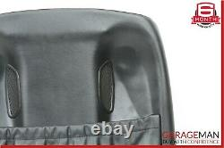 06-11 Mercedes W219 CLS500 Front Left Driver Side Back Seat Cushion Cover Black