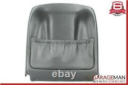 06-11 Mercedes W219 CLS500 Front Left Side Seat Back Plate Panel Cushion Cover