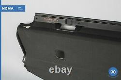 06-13 BMW 335i E92 Coupe Rear Deck Shelf Package Tray Trim Panel Cover OEM