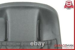07-09 Mercedes W221 S550 Front Right or Left Seat Back Plate Panel Cover Black