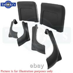 1966 GM A Body Front Bucket Seat Bottom & Back Panel Set 6 Pieces New