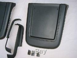 1967 Mustang Shelby Deluxe Seat back panel, side Trims BLACK