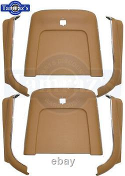 1969-1972 GM A Body Front Bucket Seat Bottom & Back Panel Set 6 Pieces New