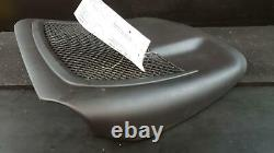 2007 AUDI A4 2.0T QUATTRO DRIVER LH FRONT SEAT BACK PANEL COVER with NET BLACK