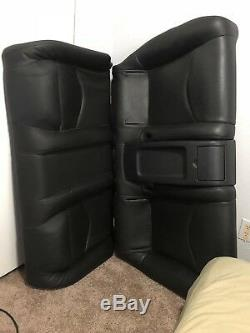 2009 Infiniti G37 Coupe Seats Front (2)/ Back Seats/ Side Leather Panels/ Black