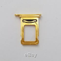 24K Gold Middle Frame Housing Jade Back Panel Limited Edition For iPhone XS max