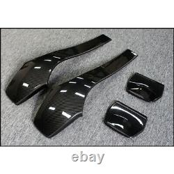 3K Dry Real Carbon Fiber Seat Back Cover Panel for BMW M3 M4 F80 F82 2014-2019