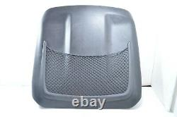 AUDI A4 A6 Q7 A3 FRONT SEAT BACK PANEL COVER NET Passenger Driver with CLIPS