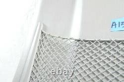 AUDI Q7 A3 A4 A6 FRONT SEAT BACK PANEL COVER NET passenger driver CLIPS GRAY OEM