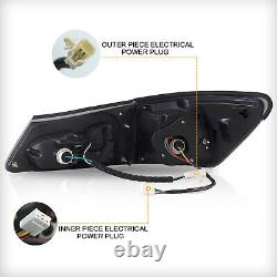 CLEAR LED Headlights + SMOKE LED Taillights for 06-13 IS250/350 Sedan 08-14 IS F
