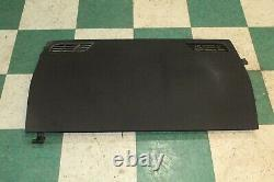 DMG10-16 PANAMERA Black Rear Back Privacy Cargo Cover OEM Factory Panel