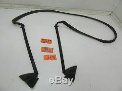 Fits 04-11 Saab 9-3 Convertible Top Rubber Seal 12831790 Back Weather Strip Car