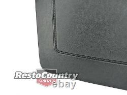 Ford Front Bucket Seat REAR Trim Panel PAIR Black Early XA + Clips. Back interio