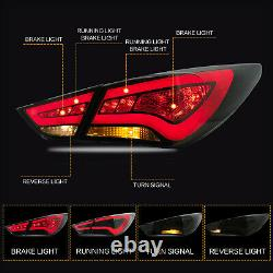 Free Shipping to PR for 11-14 SONATA CLEAR Headlights+SMOKED Taillihgts