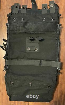 Spiritus Systems Assault Back Panel Core Black